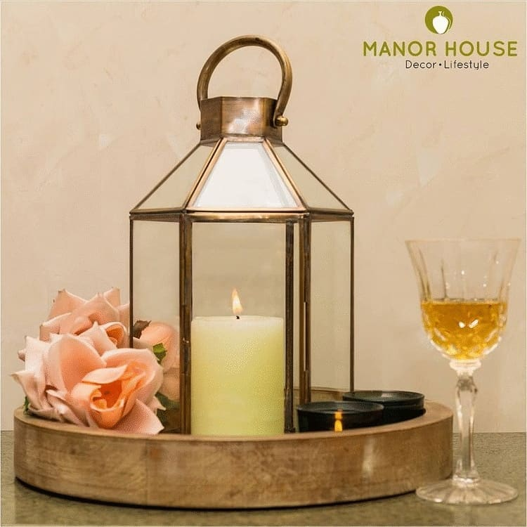 As elated we are for the festive season ahead, we are often chuffed to bits when @manor_house_decor products are used/placed/styled in ways which shout creativity. Tell us how you would style this brass and glass lantern and get a 15% sitewide discount on our products. Leave your thoughts in comments and we will DM you the discount code.  #manorhouse #manorhousedecor #homedecor #lantern #rakhihampers #hamper #hampers #homedecoration #housetohome #lanternfest #weddingdecor #tablecenterpiece