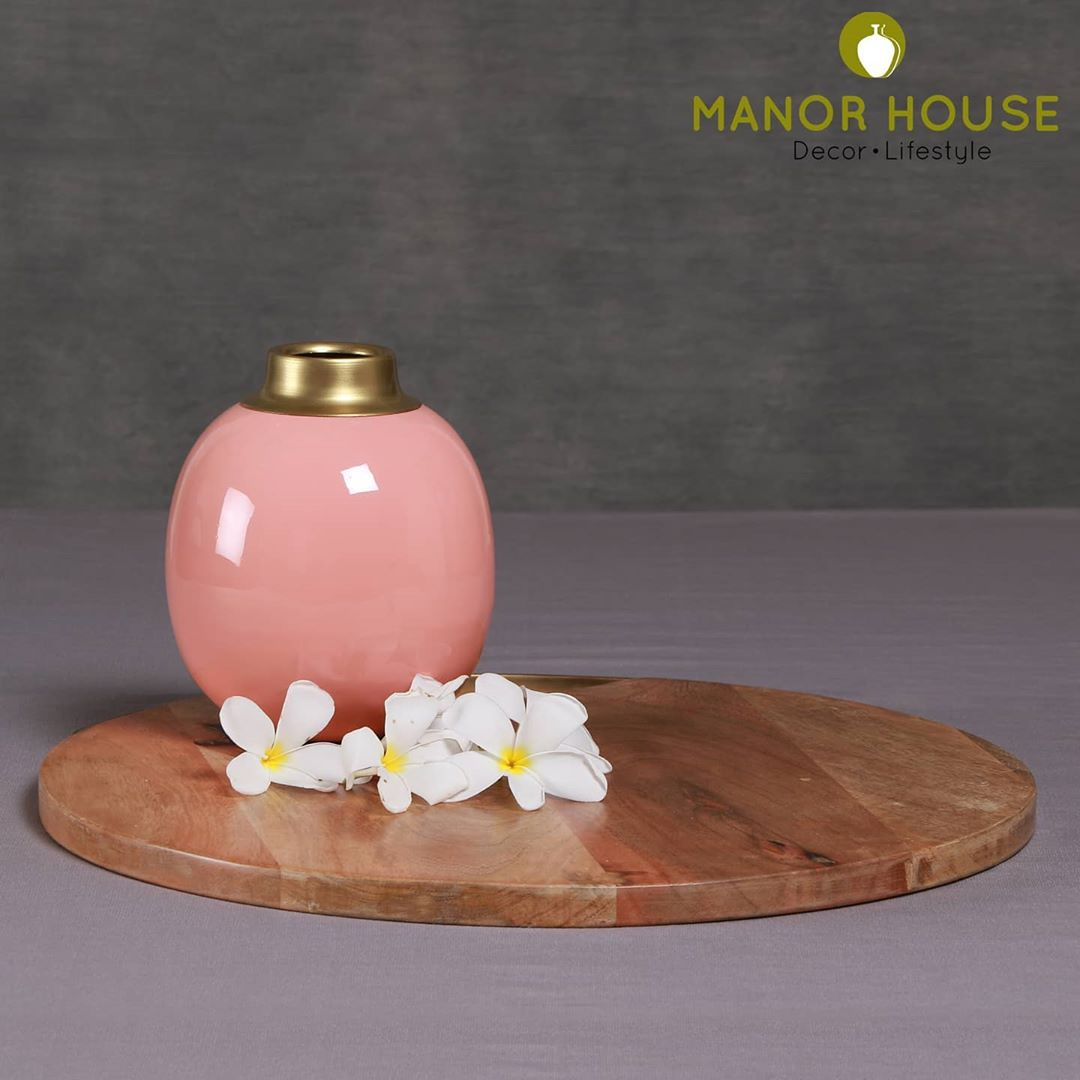 Our baby vase #manorhouse #plants #vase #flowervase #livingroomdecor #powderroom #homedecor #giftsforher #babyshower