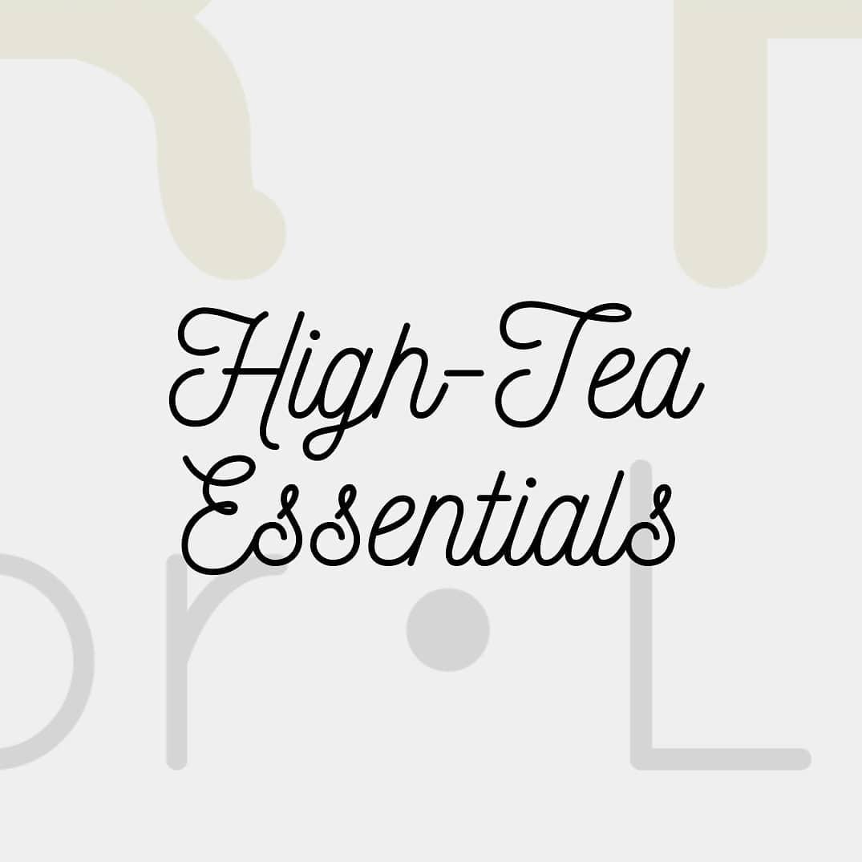 There's always time for tea! . . . . . #tea #decor #teatime #serveware #hightea #essentials