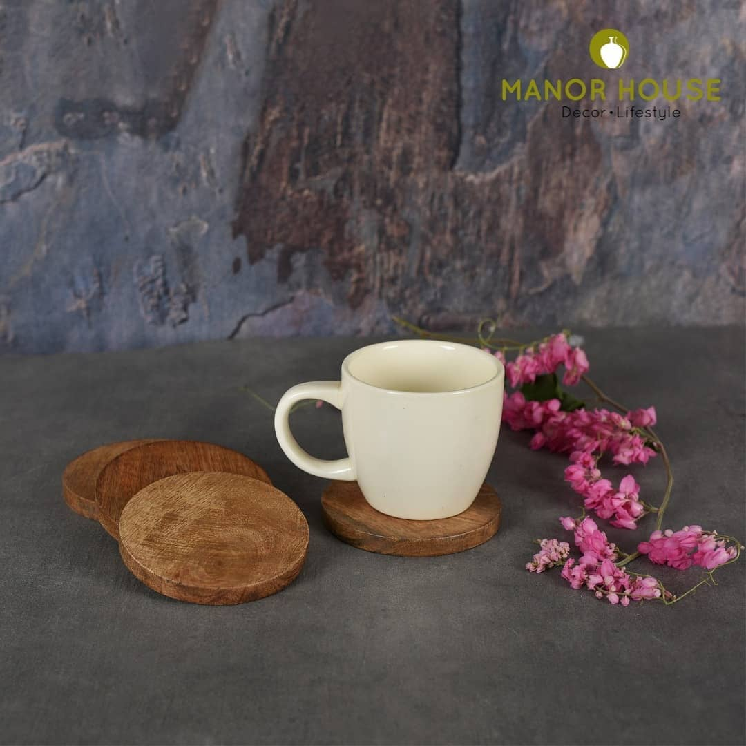Have a tea time without worrying about tea strains on your table cover with these classy Wood Coasters set that can be a perfect match to your tea time. . . . . . . #tea #teatime #wooden #coasters #woodencoasters #homestyling #homedecor