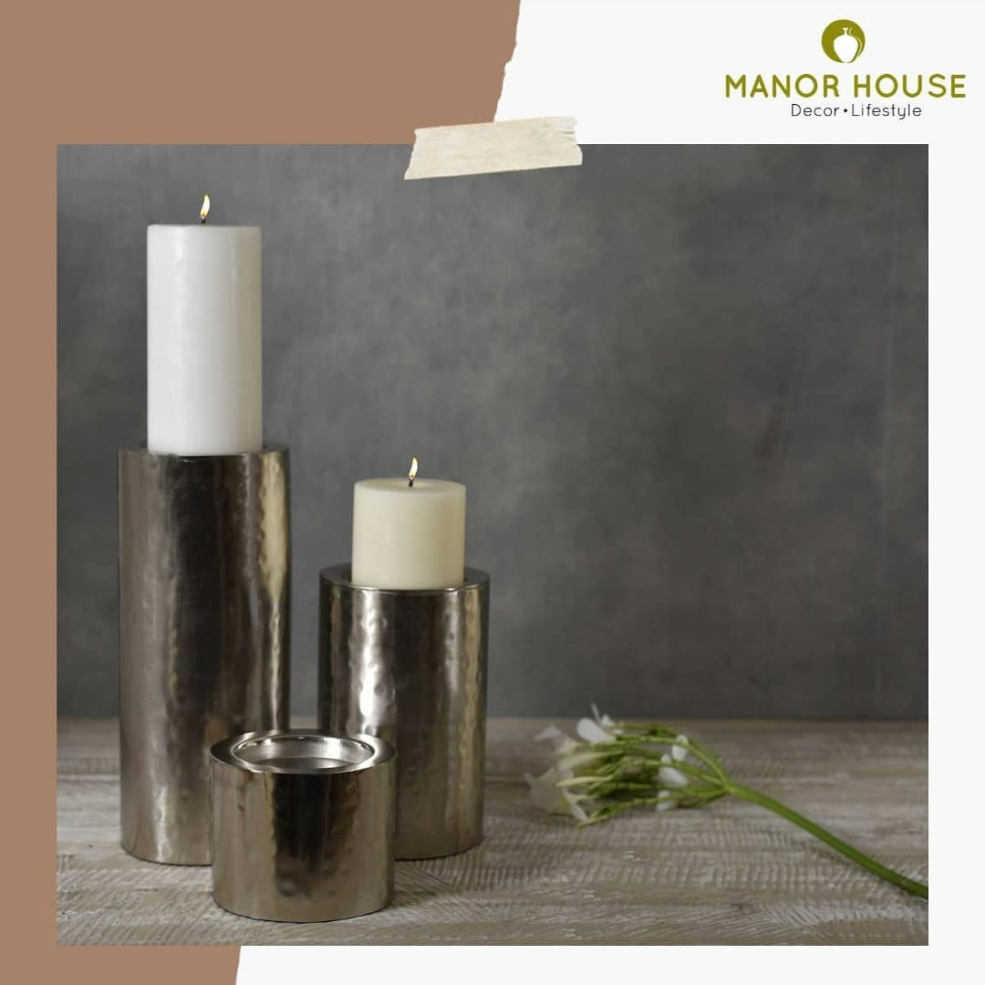 There is nothing more relaxing than spend your evening by the light of candles! Enlight your home decor with these set of 03 candle holders that comes with a premium nickel finish. These candles will lend your space a festivevibe! . . . . . #candles #candleholder #candle #candleholders #nickel #interiorlovers #interiorstylist #decor #interiordesign #inspo #inspiration #hallinspiration #homecanva #uchomes #lifestyle #homeiswhereheartis ##myhomebloom #PositiveVibesHomes @bloominghomeee  @transformation_tales #thedecormates  @home_iswhereheartis  #myhomefeel #homegarnishing  #sharinghomestories  @spiceinthecity #decorandshare  #simplehomewelove  #thetabletopshot @thetabletopshot_ttts #itsmywaydecor  #creative_homestyles @raw_homestyle #raw_homestyle @creative_homestyles #raw_all_india @raw_all_india #uchomes @urbancompany_homes @pretty_small_spaces #pretty_small_spaces @creative_homestyles #creative_homestyles