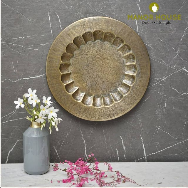 Buy the exclusive etched wall plate that can embrace the look of your main wall. This handcrafted wall plate will give an ethnic look to your home décor! . . . . #thursday #thursdayvibes #wall #walldecor #wallaccessories #creativehomes #homedecor #manorhouse #uchomes #beautifulhomes #wallmount #diy #idea #beautifuldecor #urbanhomes #india #delhi #wallsetting  #wallsetup @blomminghomeee @transformation_tales @home_iswhereheartis @raw_all_india @urbancompany_homes @creative_homestyles #homedecor #plate #decor #gift #smallbusiness #supportsmallbusiness #exclusive #etched #wallplate #handcrafted